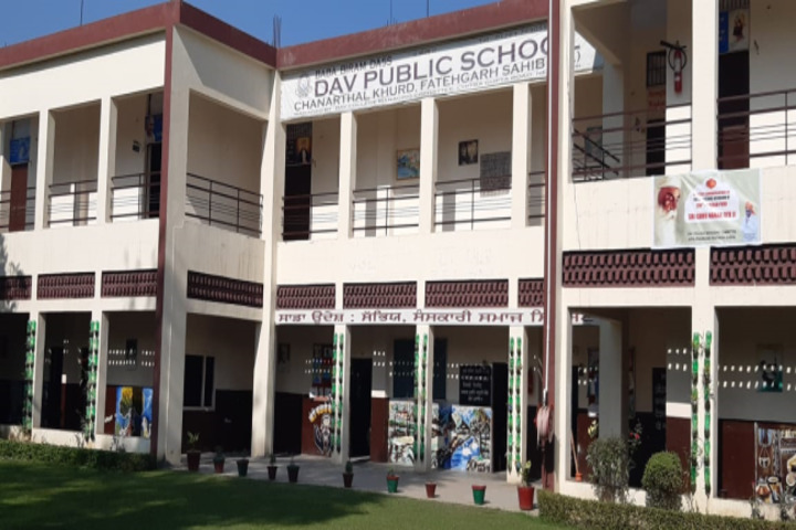 BBD DAV Public Senior Secondary School-School Building