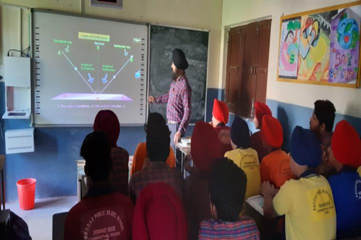 BBD DAV Public Senior Secondary School-Smart Classroom