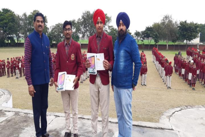 BBD DAV Public Senior Secondary School-Winners