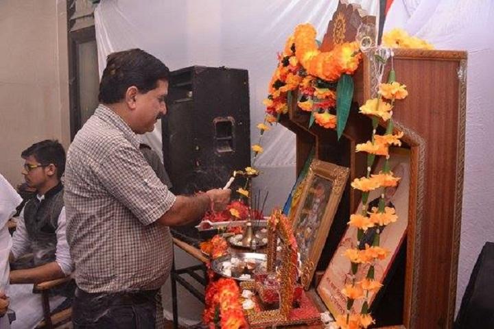 Deepmala Pagarani Sanskar Public School-Lighting The Lamp