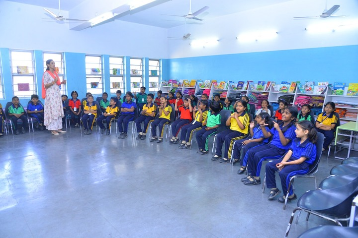 The Platinum Jubilee High School-Activity Room