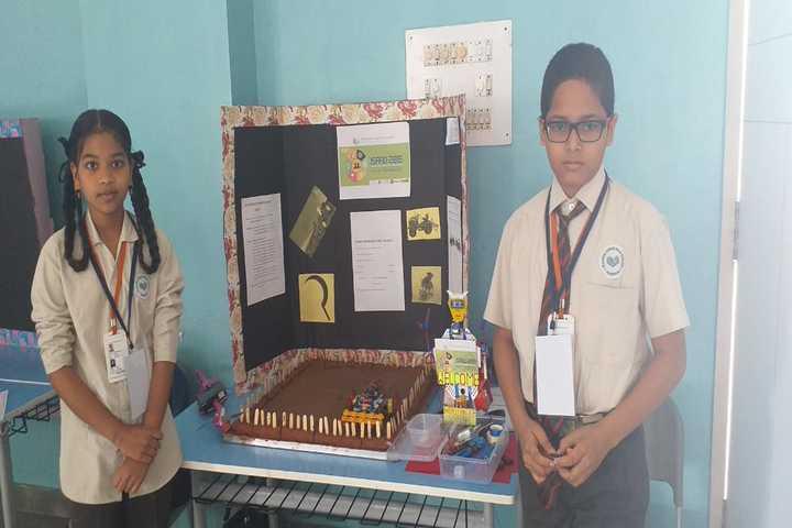 The Platinum Jubilee High School-School Exhibition
