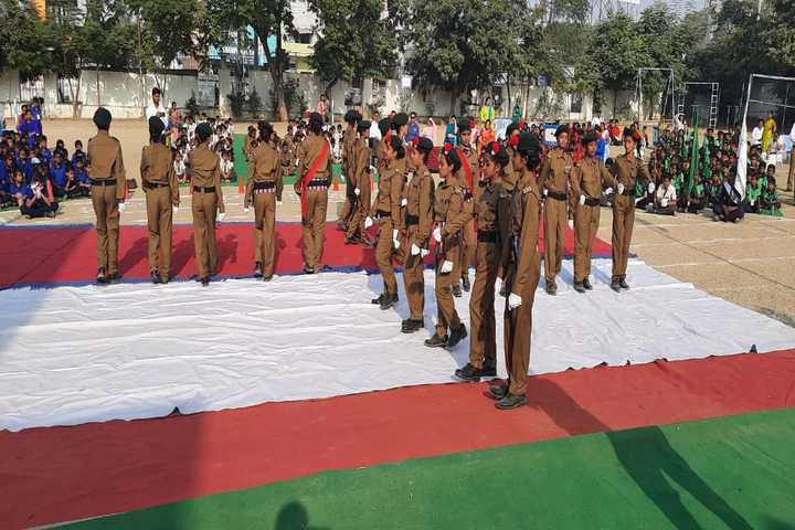 The Platinum Jubilee High School-Scouts And Guides