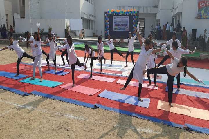 The Platinum Jubilee High School-Yoga