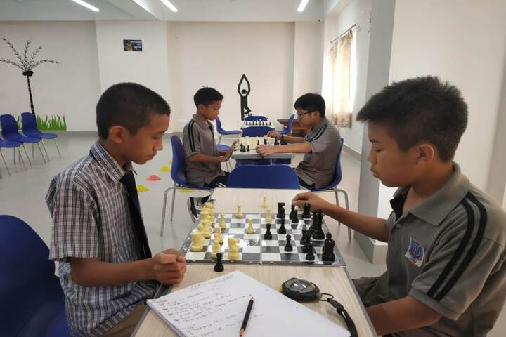 HIM International School-Chess Competition