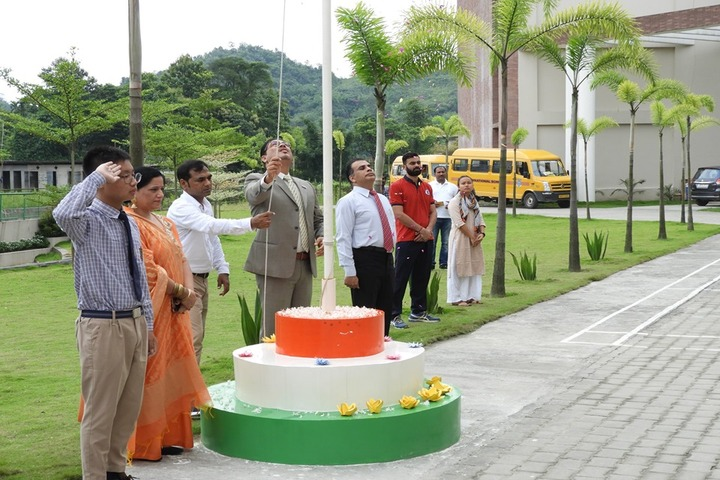 HIM International School-Flag Hoisting