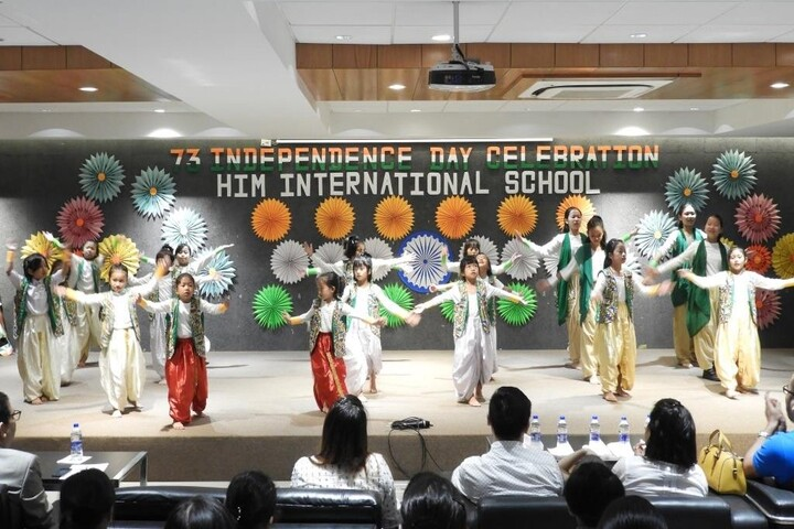 HIM International School-Independance Day