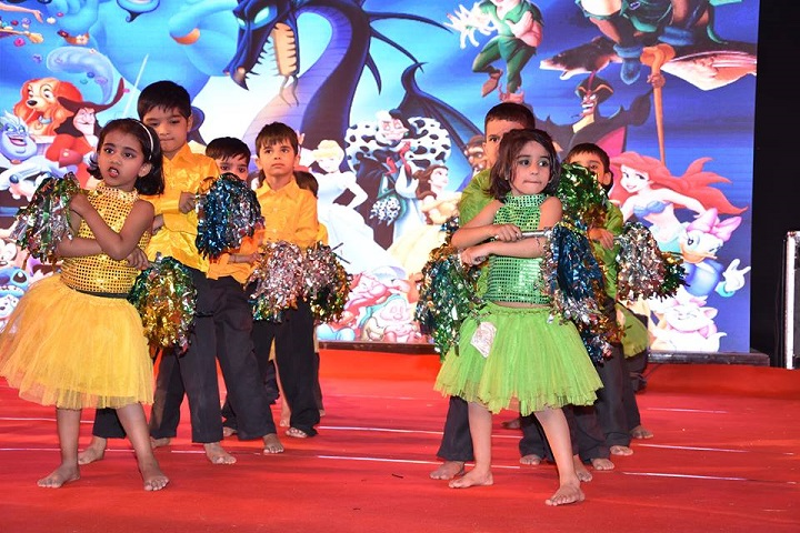 Delhi Public World School-Dance