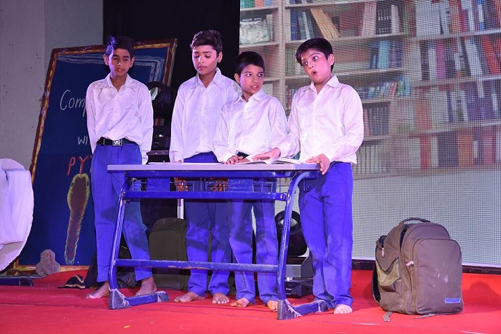 Delhi Public World School-Drama