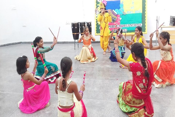 Delhi Public World School-Festival Celebration