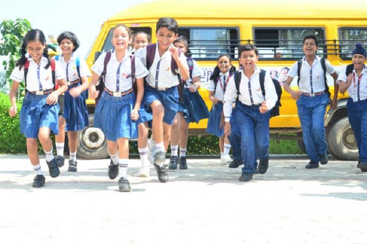 Seth M R Jaipuria School-Bus