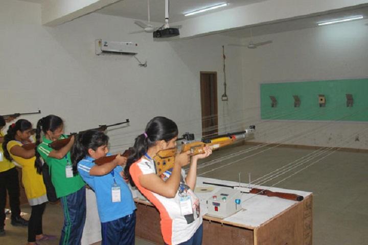 Seth M R Jaipuria School-Gun Shooting