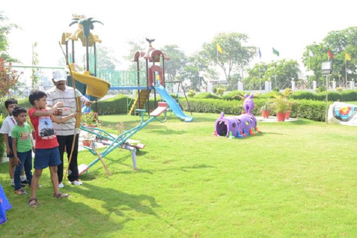 Seth M R Jaipuria School-Play Ground