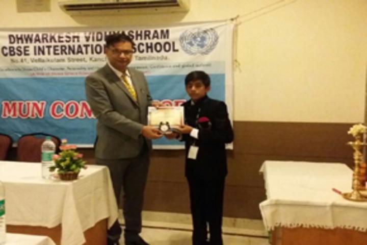 Dwarkesh Vidhyashram CBSE School-Certification