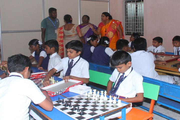 Dwarkesh Vidhyashram CBSE School-Chess Competition