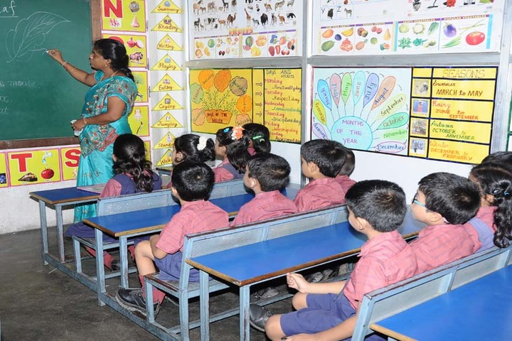 Dwarkesh Vidhyashram CBSE School-Classroom