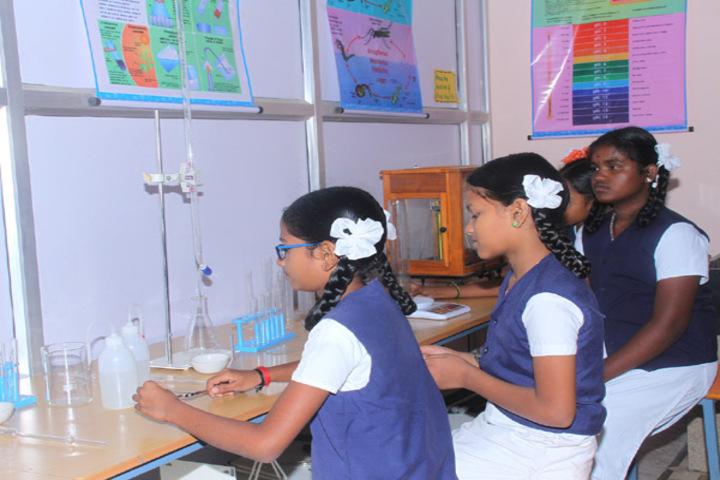 Dwarkesh Vidhyashram CBSE School-Science Lab
