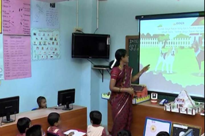 Dwarkesh Vidhyashram CBSE School-Smart Classroom