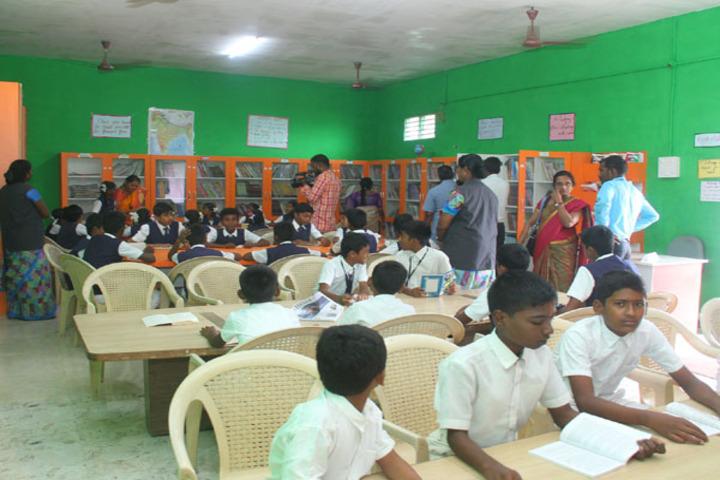 Dwarkesh Vidhyashram CBSE School-Study Room