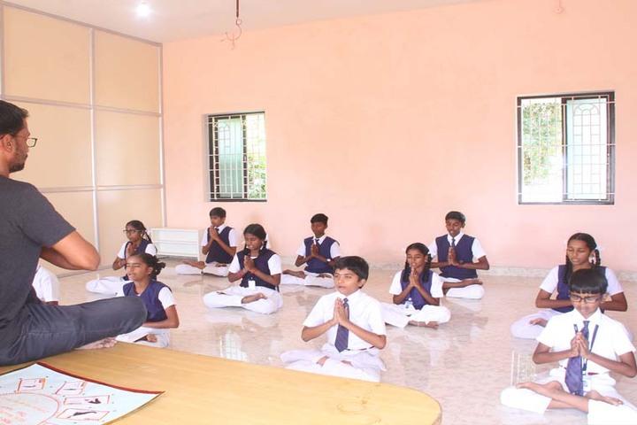 Dwarkesh Vidhyashram CBSE School-Yoga