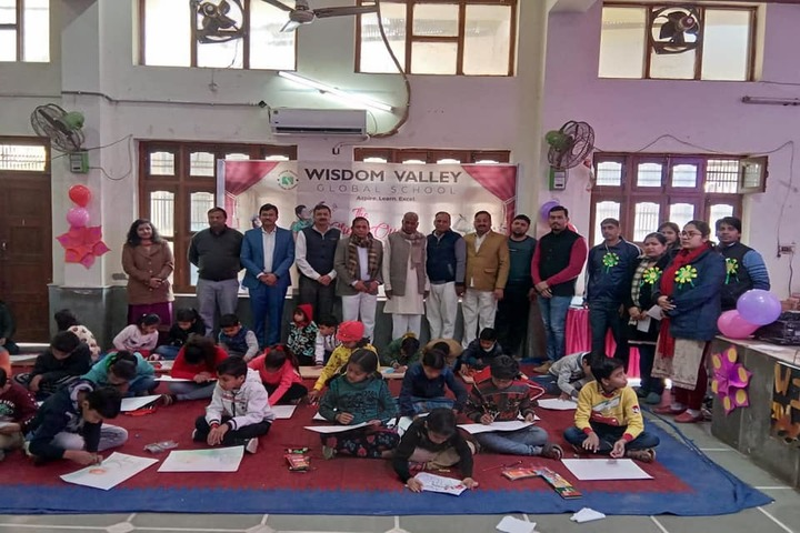 Wisdom Valley Global School-Drawing Competition