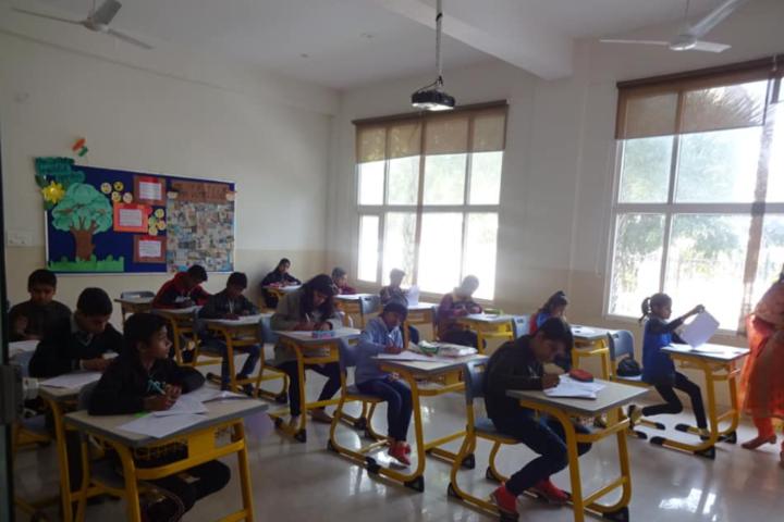 Wisdom Valley Global School-Exam Hall