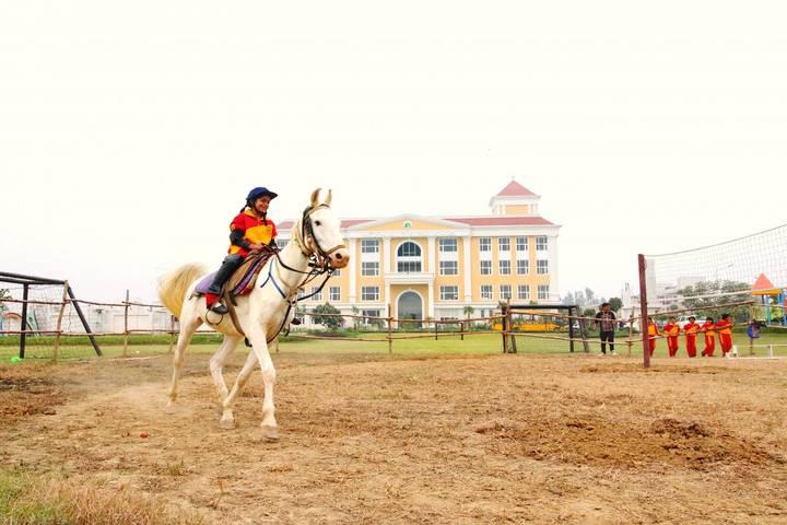 Wisdom Valley Global School-Horse Riding