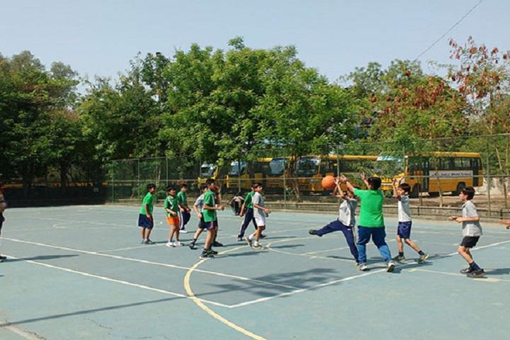 Indus World School-Basket Ball Court