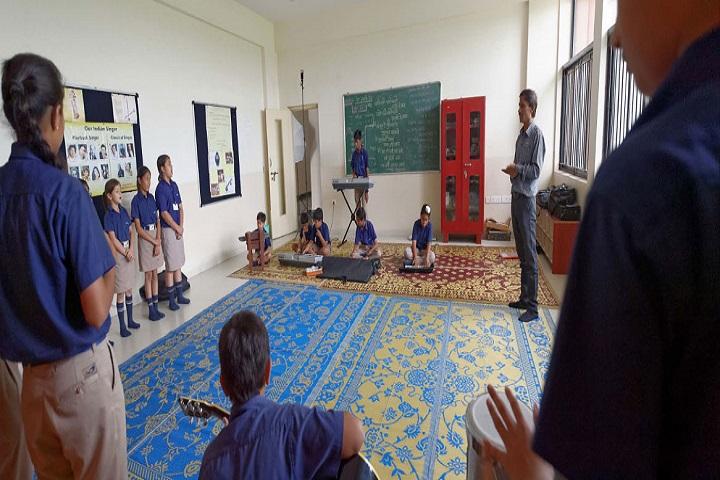 Indus World School-Music Room