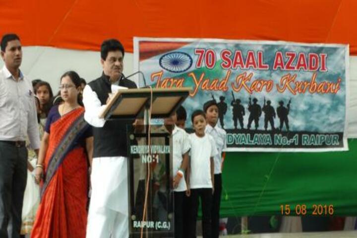Kendriya Vidyalaya No1- Speech