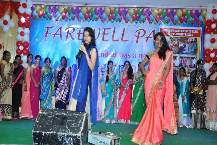 Abhyudaya Mahila Junior College-Farewell