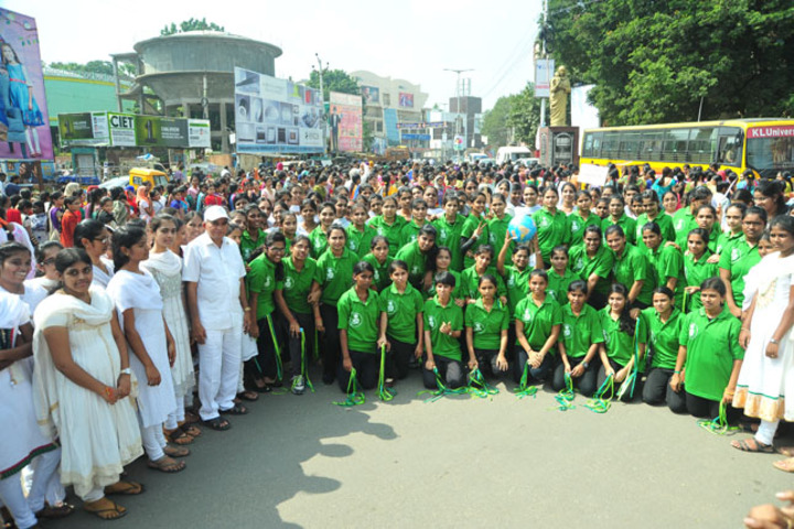 Abhyudaya Mahila Junior College-Go Green Activity