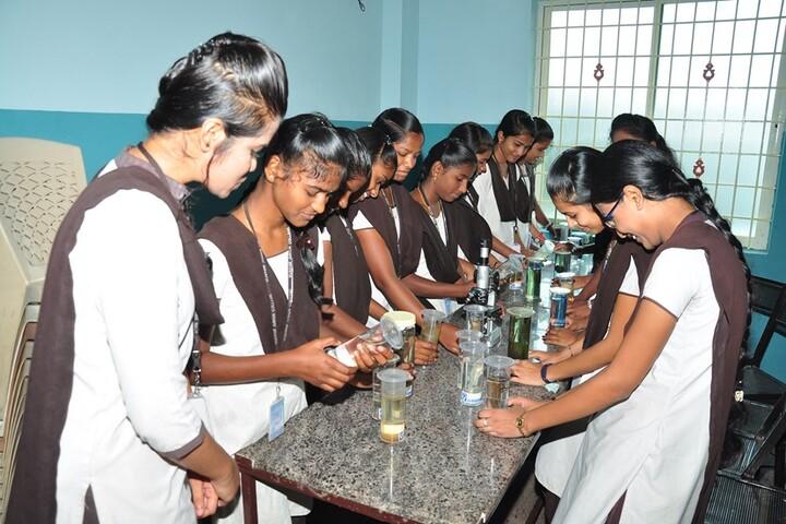 Vijayam Junior College-Biology Lab