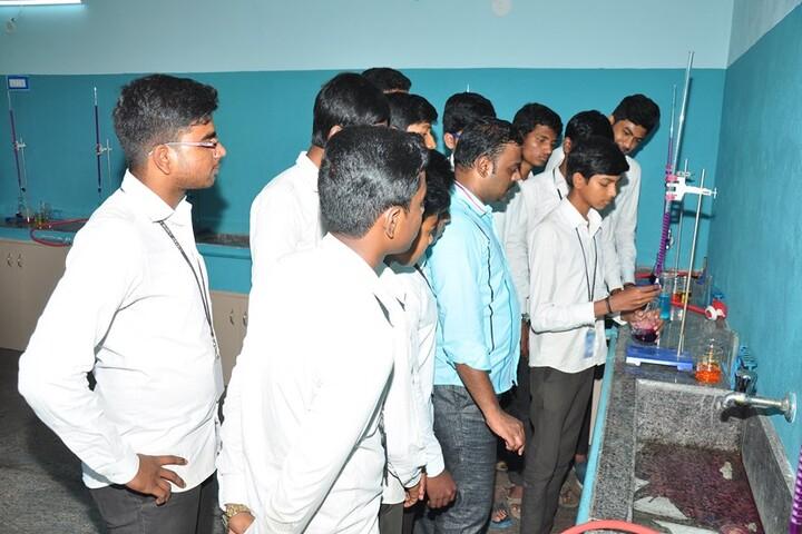 Vijayam Junior College-Chemistry Lab