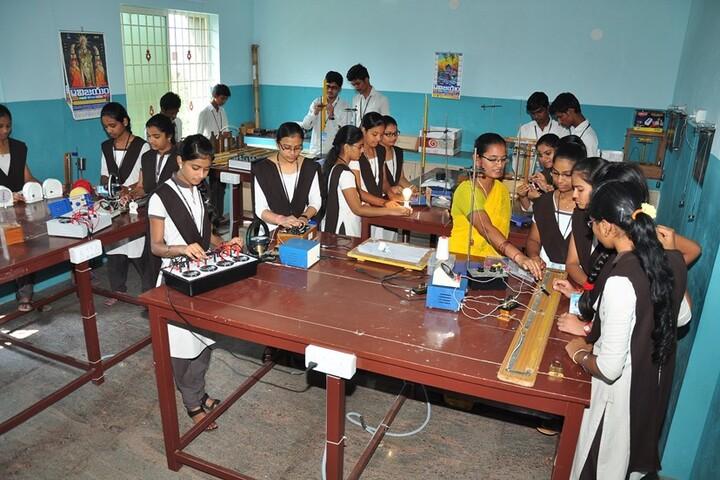 Vijayam Junior College-Physics Lab