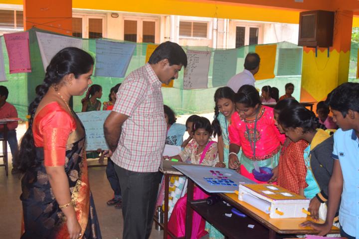 Vijayam Junior College-School Exhibition