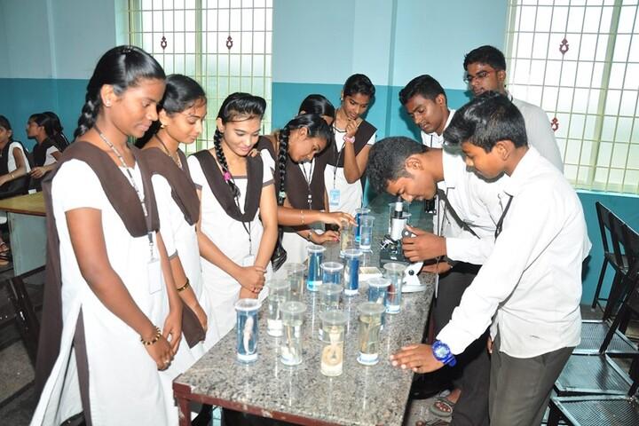Vijayam Junior College-Zoology Lab