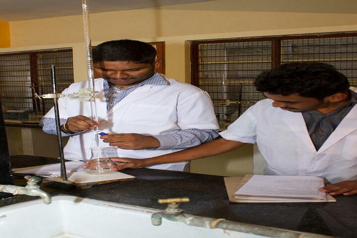 Sambhram School and Junior College-Chemistry Lab