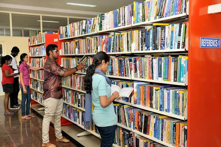 Sambhram School and Junior College-Library