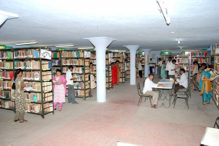 Sri Subbaraya And Narayana College-Library