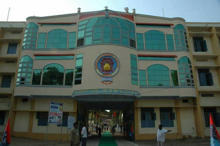 The Bapatla College of Arts And Sciences-School Building