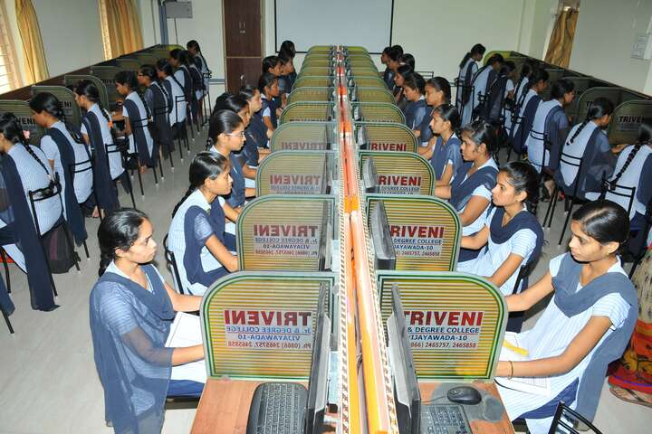 Triveni Girls Junior And Degree College-Computer Lab