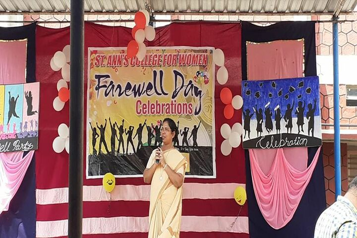 St Anns College for Women-Farewell Day