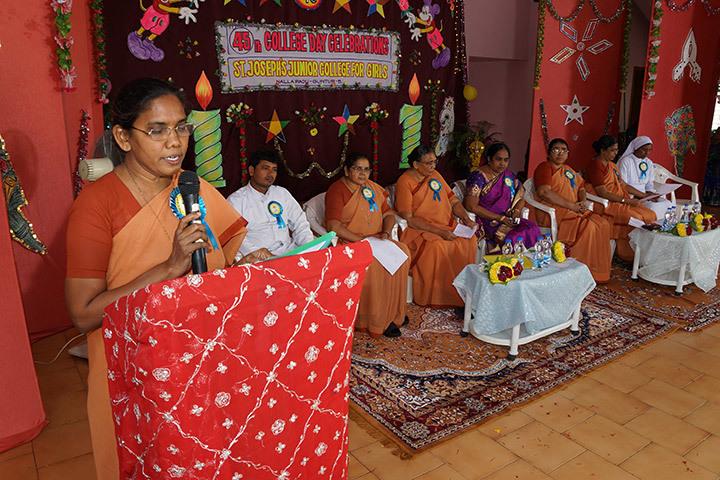 St Josephs Junior College for Girls-College Day