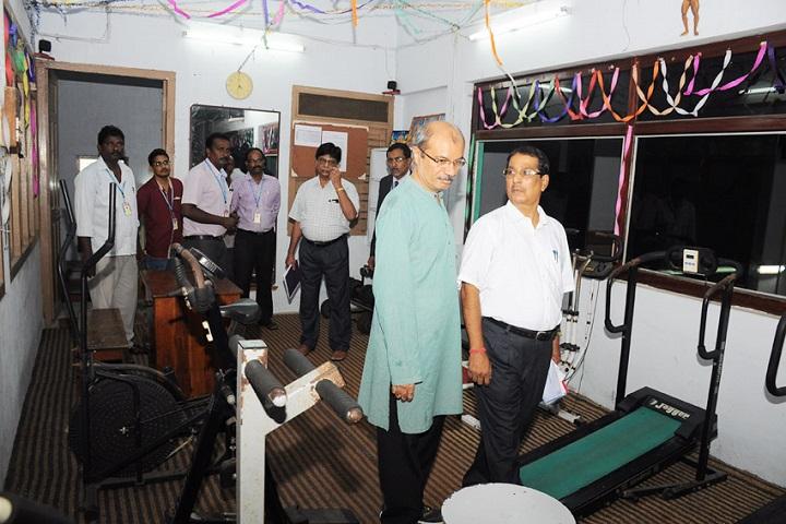 Akkineni Nageswara Rao College-Gym
