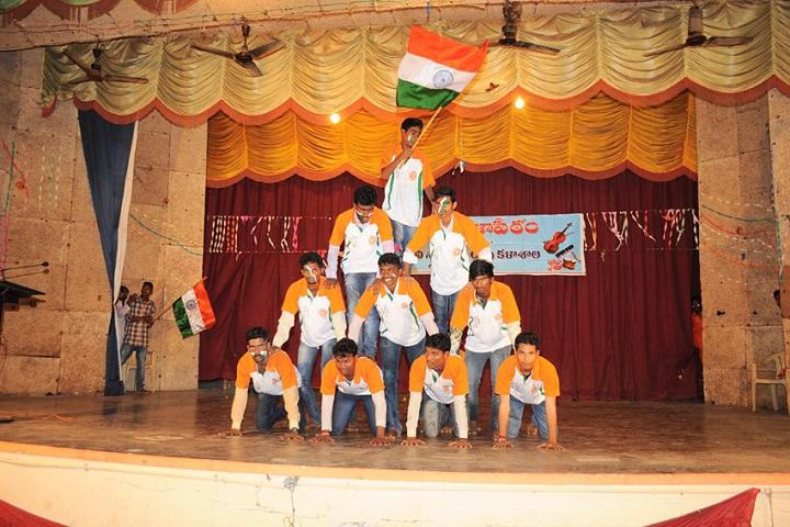 Akkineni Nageswara Rao College-Independence Day Celebration