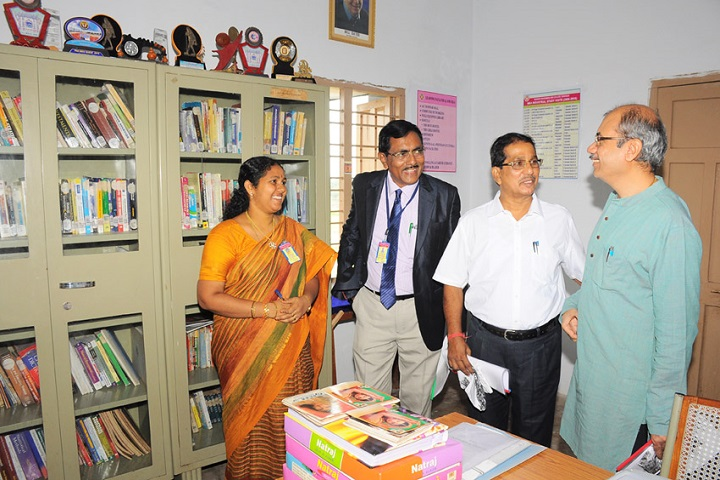 Akkineni Nageswara Rao College-Library