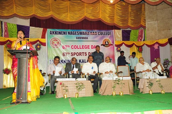 Akkineni Nageswara Rao College-Speech