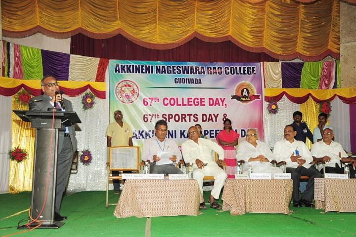 Akkineni Nageswara Rao College-Sports Day
