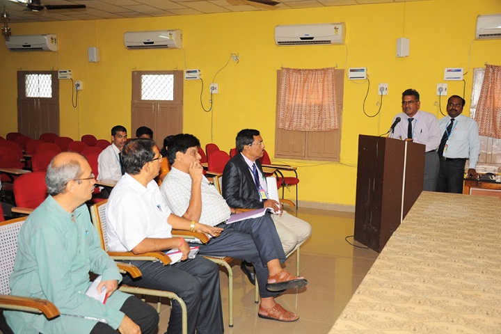 Akkineni Nageswara Rao College-Staff Meeting